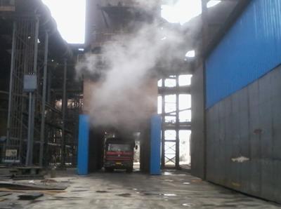 浙江高炉无动力湿法清灰除尘装置